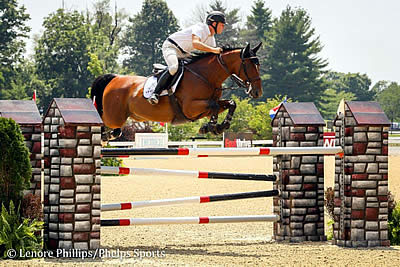 David Beisel and Sharn Wordley Top Jumper Competition at Kentucky Summer Horse Show
