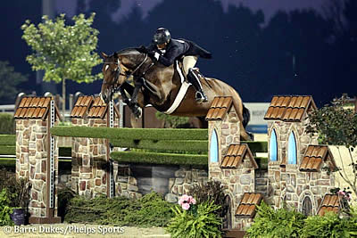 Victoria Colvin and Cuba Capture USHJA International Hunter Derby Championship Honors