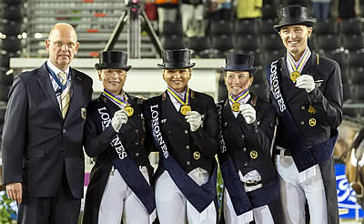 Dressage Team Gold for Germany Once Again