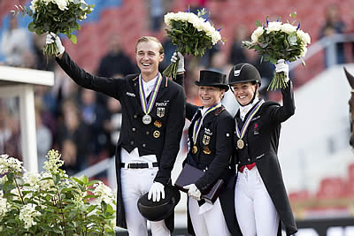 Double-Gold for Werth and Weihegold as They Win Dressage Grand Prix Special
