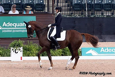 Paris and Countess Impress in Their First FEI CDI-W Grand Prix Freestyle Competition at TIEC