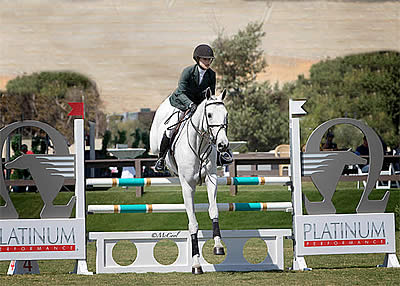Halie Robinson Wins USEF Show Jumping Talent Search Finals – West