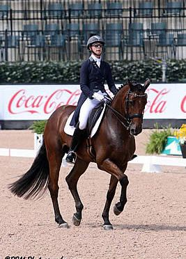 Victory for Jessica Jo Tate and Cayman V at Tryon Fall Dressage FEI CDI-W