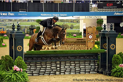 Professional Hunters Highlight Halloween Competition at CP National Horse Show
