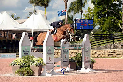 Fabio Da Costa and Tosca De L'Esques Jump to First Place in $25k Omega Alpha Grand Prix