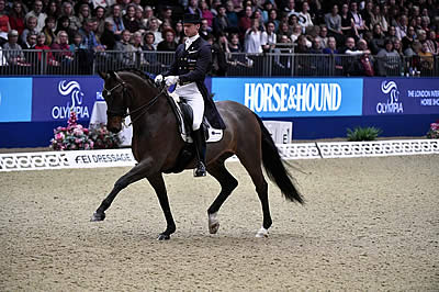 Patrik Kittel Wins FEI World Cup Dressage Freestyle to Music