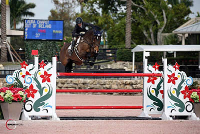 Laura Chapot and Out of Ireland Race to the Win in $6,000 Bainbridge 1.40m Speed Challenge