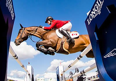 Canadians Claim Clear Victory at Longines Leg in Ocala
