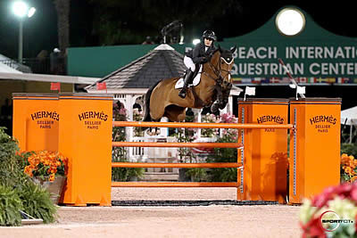 Lacey Gilbertson and Baloppi Continue Success in $35k Hermès Under 25 Semi-Final Grand Prix