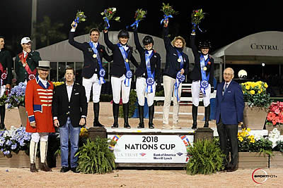 Great Britain Double Clear to Win $150,000 Nations Cup CSIO4*