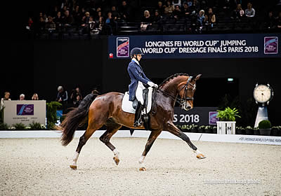 Laura Graves and Verdades Second Place at FEI World Cup Dressage Final