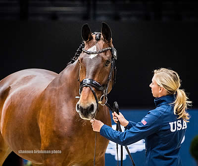 Graves and Francis Primed to Compete for US in 2018 FEI World Cup Dressage Final