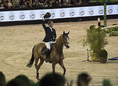 Interview with Niels Bruynseels, Current Rolex Grand Slam of Show Jumping Live Contender