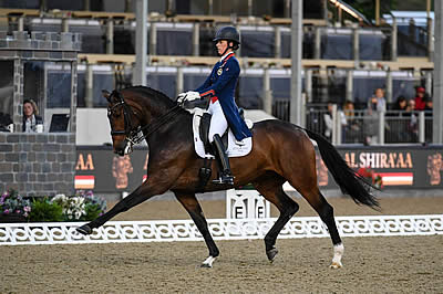 Dujardin Dazzles on Second Day of Royal Windsor Horse Show