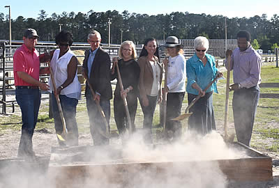 Jacksonville Equestrian Center Hosts Groundbreaking Event