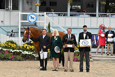 Scott Stewart Defends Devon Grand Hunter Championship and Leading Hunter Rider Award