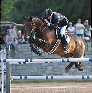 Curly Sue and Daniel Geitner Victorious in Jumpers Week II of Atlanta Summer Classics