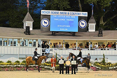 Andrew Kocher and Mattias Tromp Share Open Jumper Championship Honors at Devon