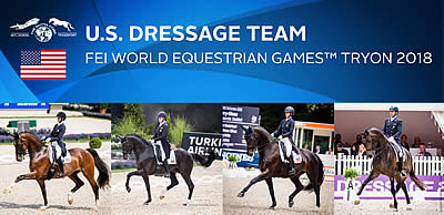 US Equestrian Names Dressage Team for World Equestrian Games Tryon 2018