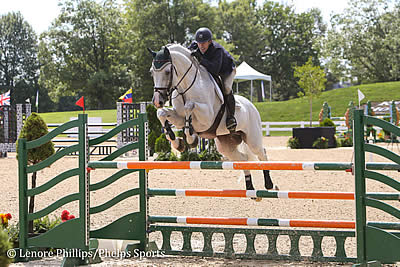 David Oberkircher Dominates Rolex Stadium during Kentucky Summer Horse Show