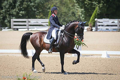 Charlotte Jorst and Heather Blitz Blaze to Wins at the U.S. Dressage Festival of Champions