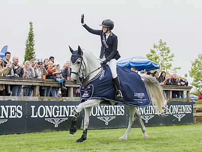 O'Neill Stands Alone with Only Clear to Earn First Longines Victory in Vancouver