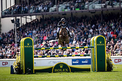 Sameh El Dahan Riding Suma's Zorro Wins CP 'International' at Spruce Meadows 'Masters'