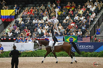 Italian Victory in Vaulting Pair's Competition