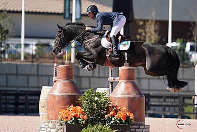 Bluman Rides to Blue Concluding CSI 5* Competition at Tryon