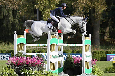 Molly Ashe Cawley and D'Arnita Fight to Win $204k FEI Jumping World Cup New York CSI4*-W
