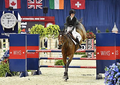 Eliza Kimball Claims $10,000 WIHS Children's Jumper Championship
