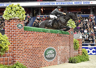 Aaron Vale Soars to Great Heights to Win $25,000 Land Rover Puissance
