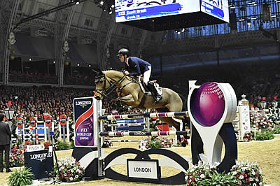 Scott Brash to Retire Once-in-a-Lifetime Mare, Ursula XII, at Olympia