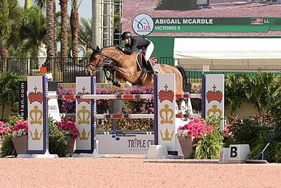 Abigail McArdle Victorious in $50k USEF U25 National Show Jumping Championship with Victorio 5