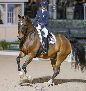 """Laura Graves and Verdades Capture Another Win in """"Friday Night Stars"""" Grand Prix Freestyle"""
