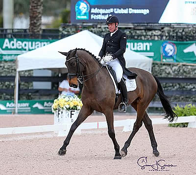 AGDF Wraps Up Week 1 with a Win for Michael Klimke and Harmony's Diabolo
