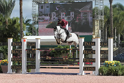 Marilyn Little and RF Casablanca Bound to Blue in $25k Vita Flex Grand Prix at ESP New Year's