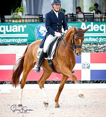 Jan Ebeling and Bellenna Wrap Up AGDF Week 7 with Win in FEI Intermediate I Freestyle CDI3*