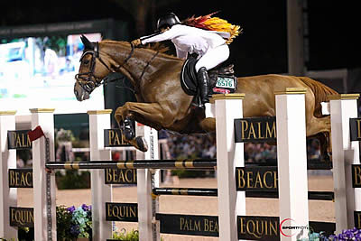 Danielle Goldstein and Lizziemary Win $391k Palm Beach Equine Clinic Grand Prix CSI 5* at WEF