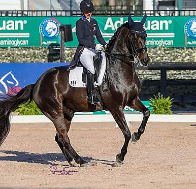 Kasey Perry-Glass and Goerklintgaards Dublet Win FEI Grand Prix CDI-W at AGDF