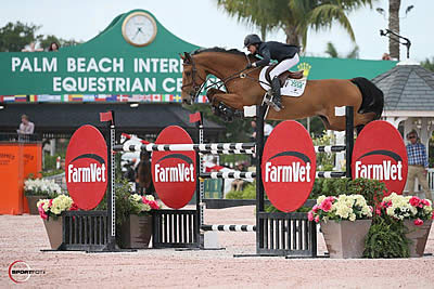 Laura Chapot and Chandon Blue Win $36k WEF Challenge Cup Round 10 CSI 3*