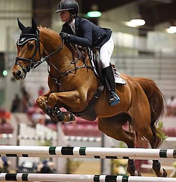 Cassandra Kahle and Epeios Win $35,000 EMO Grand Prix