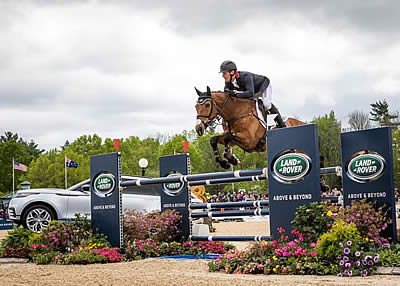 Townend Triumphs with Back-to-Back Victories at Land Rover Kentucky Three-Day Event