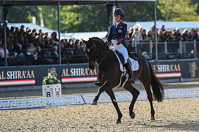 Dujardin Sublime on Day Three of Royal Windsor Horse Show