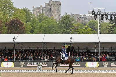 Dujardin Shines on Day Two of Royal Windsor Horse Show