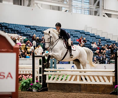USEF/Cacchione Cup Featured during Second Day of IHSA National Championships