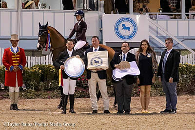 Amanda Derbyshire and McLain Ward Share Open Jumper Championship Honors at Devon
