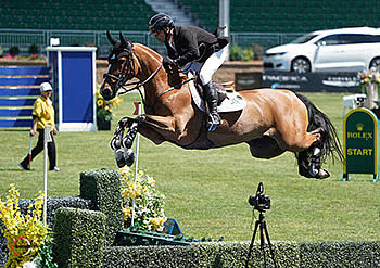 Eric Lamaze Scores Back-to-Back Grand Prix Victories at Spruce Meadows