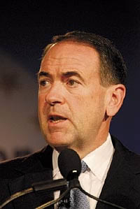 Republican presidential candidate Mike Huckabee, in an interview, admitted to eating and enjoying horsemeat.