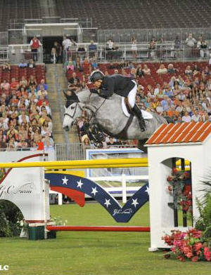 Kent Farrington and Uceko, winners of the 2011 Gene Mische American Invitational